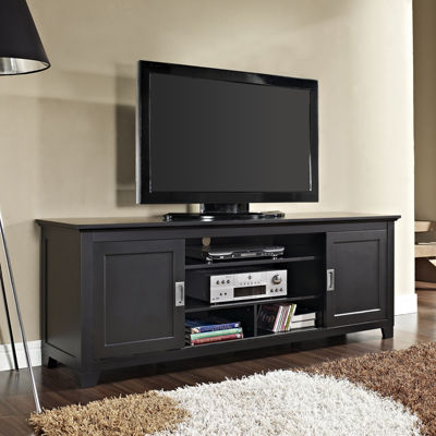 "Ethan 70"" TV Stand with Sliding Doors"
