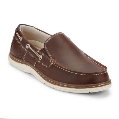 Dockers Mens Oakdale Boat Shoes Slip-on