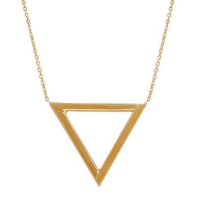 Limited Quantities! Womens 10K Gold Chevron Necklaces
