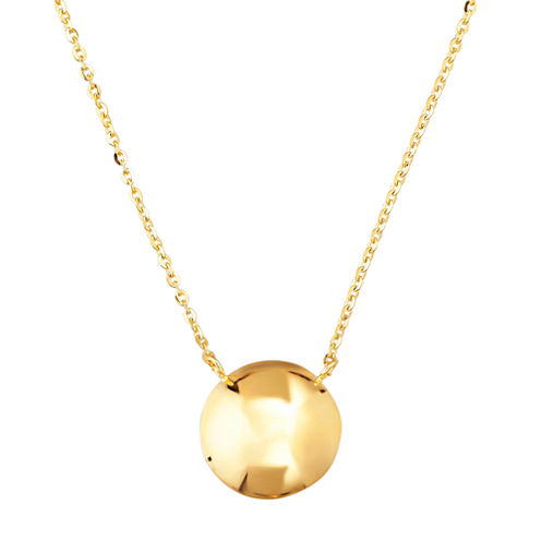 Limited Quantities! Womens 20 Inch 14K Gold Link Necklace
