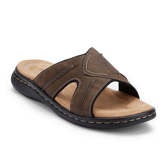 Sunland Home Decor Coupon Code: Dockers Sunland Mens Slide Sandals-JCPenney, Color: Dark Brown