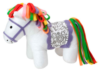 ALEX Toys Craft Color and Cuddle Washable Pony