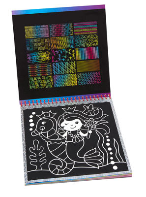 ALEX Toys Artist Studio Scra-ffiti So Cute ArtistStudio Scratch Pad Coloring and Sketch Book