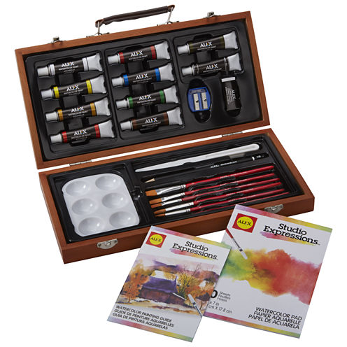 ALEX Art Studio Expressions Watercolor Painting Set