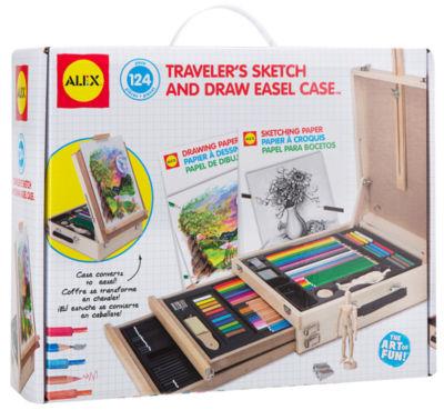 ALEX Toys Artist Studio Traveler's Sketch and DrawEasel Case