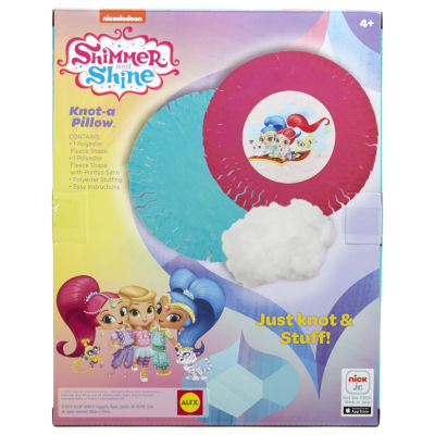 Shimmer and Shine Knot A Pillow