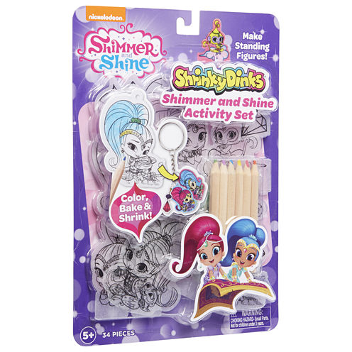 Shimmer and Shine Shrinky Dinks Activity Set