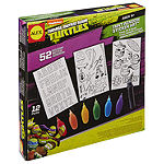 Teenage Mutant Ninja Turtles Window Sticker Art