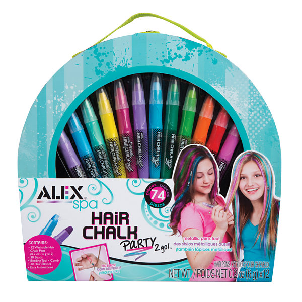 Alex Toys Spa Hair Chalk Party 2 Go