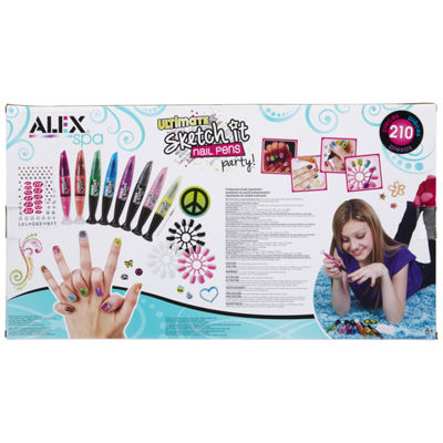 Alex Toys Spa Ultimate Sketch It Nail Pens Party