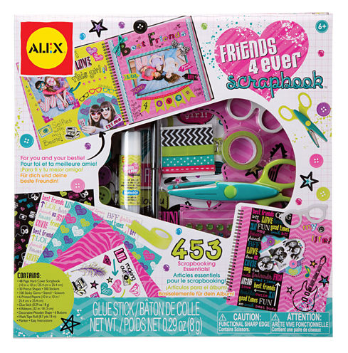 ALEX Toys Craft Friends 4 Ever Scrapbook