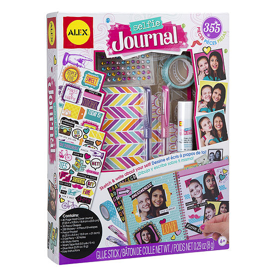 ALEX Toys Craft Selfie Journal