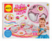 ALEX Toys Craft 13 Piece Tea Set Party with Over 100 Stickers