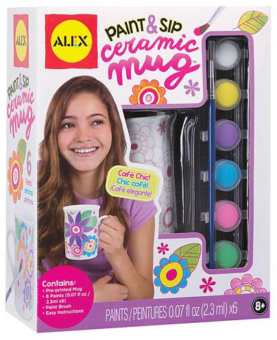 ALEX Toys Craft Paint and Sip Ceramic Mug