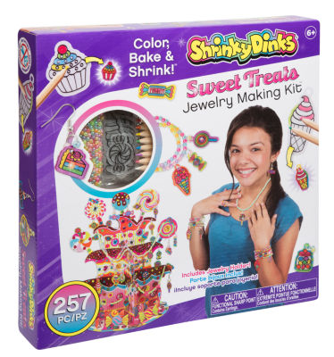 Shrinky Dinks So Sweet Treats Jewelry Kit