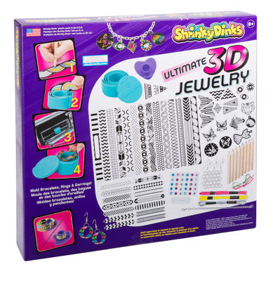 Shrinky Dinks Ultimate Bake and Shape 3D Jewelry