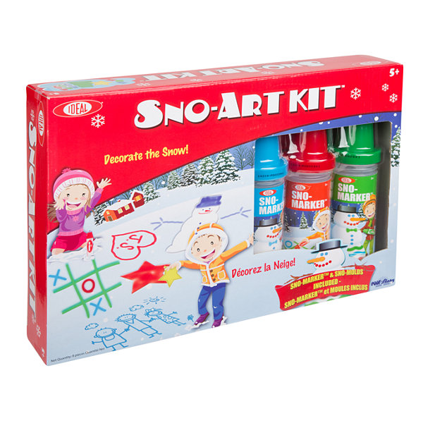 Ideal Cadaco Sno Paint Sno Art Kit