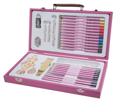 ALEX Art Studio Expressions Drawing & Sketch CaseSet