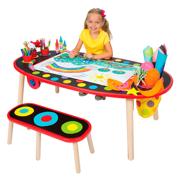 ALEX Toys Artist Studio Super Art Table with PaperRoll