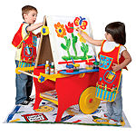 ALEX Toys Artist Studio Super Rolling Art Center With Paper Roll