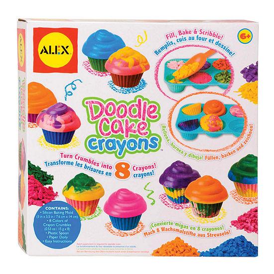 ALEX TOYS Doodle Cake Crayons