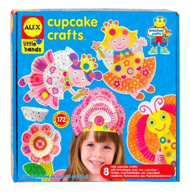 ALEX Toys Little Hands Cupcake Craft