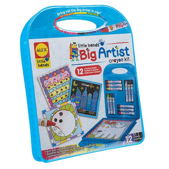 ALEX Toys Little Hands BIG Artist Series Crayon Kit