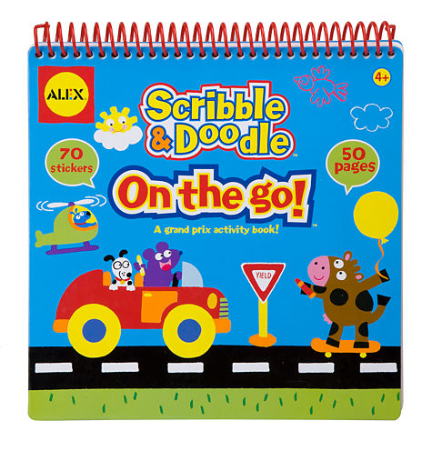 ALEX Toys Artist Studio Scribble and Doodle - On The Go