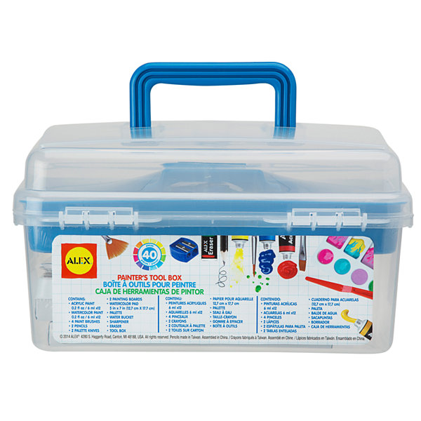 ALEX Toys Artist Studio Painter's Tool Box