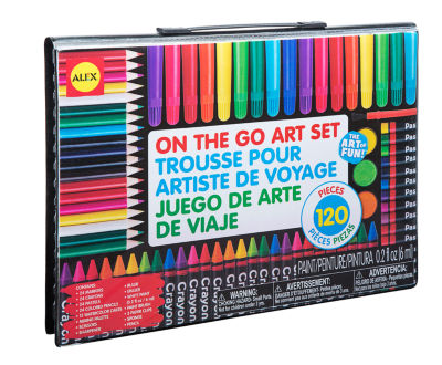 ALEX Toys Artist Studio On The Go Art Set