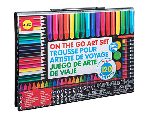 ALEX Toys Artist Studio On The Go Art Set