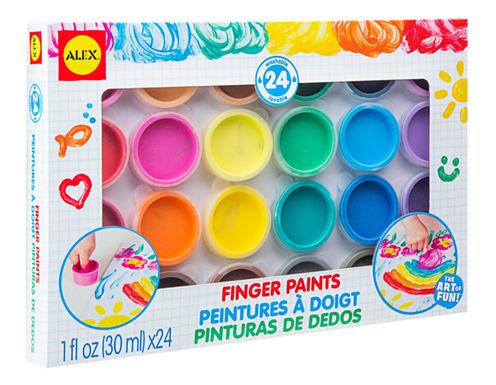ALEX Toys Artist Studio 24 Finger Paints