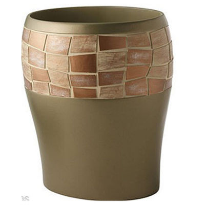 Popular Bath Mosaic Stone Waste Basket