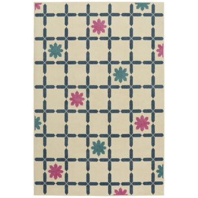 Capel Flores Rectangular Rug