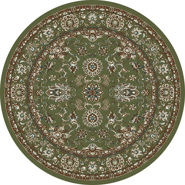 Art Carpet Arabella Traditional Border Woven Round Rugs