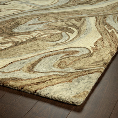 Kaleen Marble Breezy Hand-Tufted Wool RectangularRug