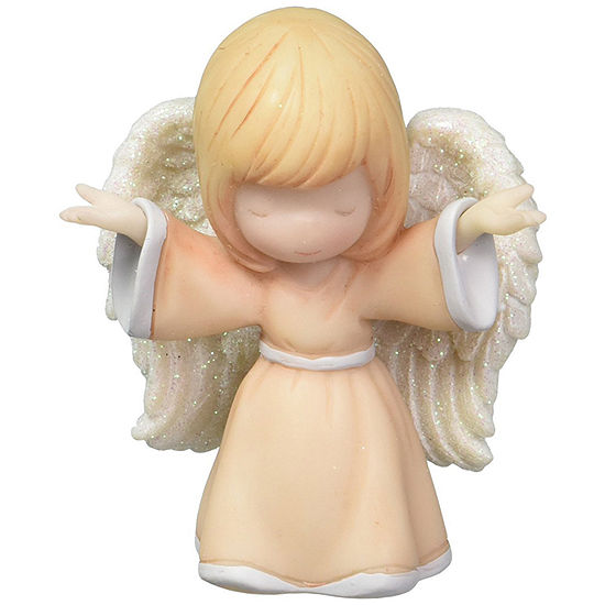 "Precious Moments  ""Open Arms Angel""  Mini Figurine  Resin  #163504"