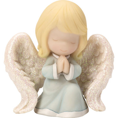 "Precious Moments  ""Praying Angel""  Mini Figurine  Resin  #163506"