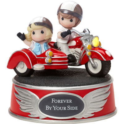 """Precious Moments  """"Forever By Your Side""""  Music Box  Resin  #163407"""