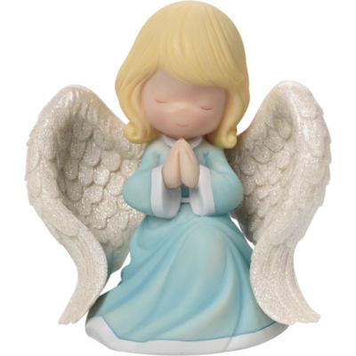 "Precious Moments  ""Praying Angel""  Music BoxResin  #163110"