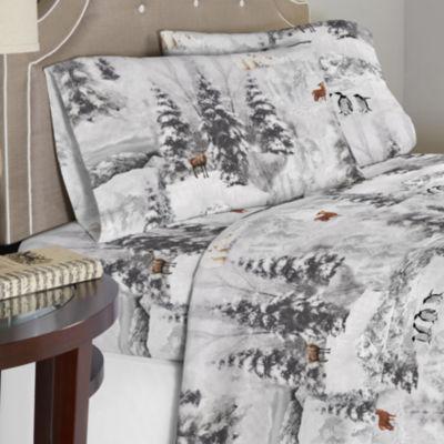 Celeste Home 190 GSM Winterland  Cotton Flannel Sheet Set