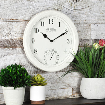 FirsTime® Costa Outdoor Wall Clock