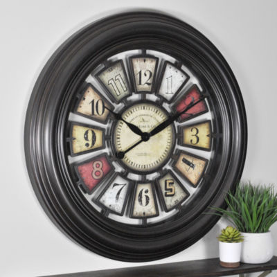 FirsTime® Industrial Chic Wall Clock