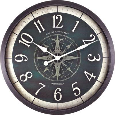 FirsTime® Compass Rose Clock