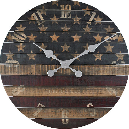 Firstime Old Glory Wall Clock