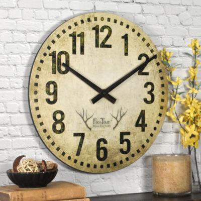 FirsTime® Camo Restoration Wall Clock