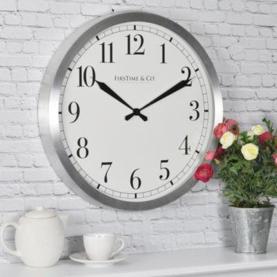 FirsTime® Soho Steel Wall Clock
