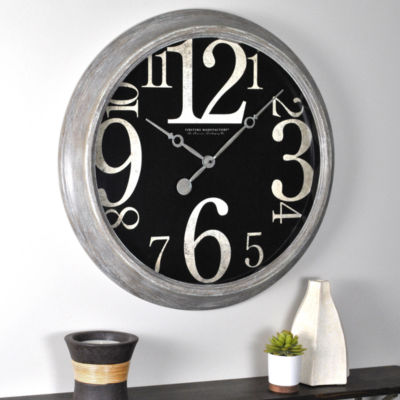FirsTime® Weathered Tilt Wall Clock