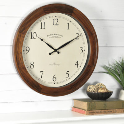 Garrison Walnut Wall Clock