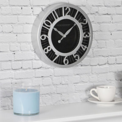FirsTime® Black Radient Wall Clock